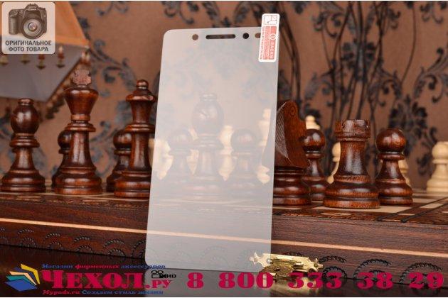 Фирменное защитное закалённое противоударное стекло премиум-класса из качественного японского материала с олеофобным покрытием для Huawei Honor 7/ Honor 7 Premium