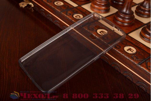 Фирменная ультра-тонкая полимерная из мягкого качественного силикона задняя панель-чехол-накладка для Huawei Honor 7 черный