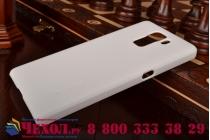 Фирменная задняя панель-крышка-накладка из тончайшего и прочного пластика для Huawei Honor 7 белая