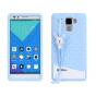 Фирменная необычная уникальная полимерная мягкая задняя панель-чехол-накладка для Huawei Honor 7/ Honor 7 Prem..