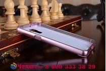 """Фирменная золотая металлическая задняя панель-крышка-накладка из тончайшего облегченного авиационного алюминия для Huawei Honor 7 с объёмным 3D рисунком """"тематика Розы"""""""