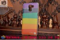 """Фирменная необычная из легчайшего и тончайшего пластика задняя панель-чехол-накладка для Huawei Honor 7/ Honor 7 Premium """"тематика Все цвета Радуги"""""""