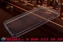 """Фирменная ультра-тонкая полимерная из мягкого качественного силикона задняя панель-чехол-накладка для Huawei Honor 7i  Dual Sim/ShotX 5.2"""" белая"""