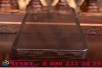 """Фирменная ультра-тонкая полимерная из мягкого качественного силикона задняя панель-чехол-накладка для Huawei Honor 7i Dual Sim/ShotX 5.2"""" черная"""