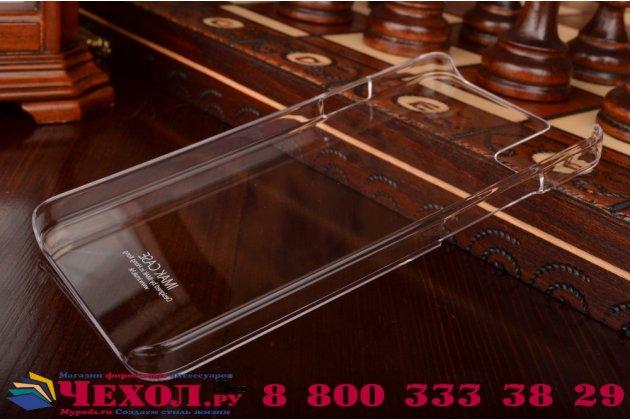 """Фирменная задняя панель-крышка-накладка из тончайшего и прочного пластика для Huawei Honor 7i  Dual Sim/ShotX 5.2"""" прозрачная"""