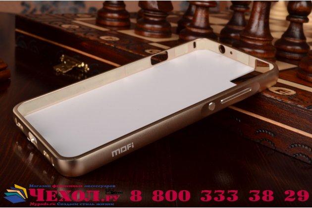 """Фирменная золотая водоотталкивающая металлическая задняя панель-крышка-накладка из тончайшего облегченного авиационного алюминия для Huawei Honor 7i Dual Sim/ShotX 5.2"""" с объёмным 3D рисунком """"тематика Золото Лепрекона"""""""