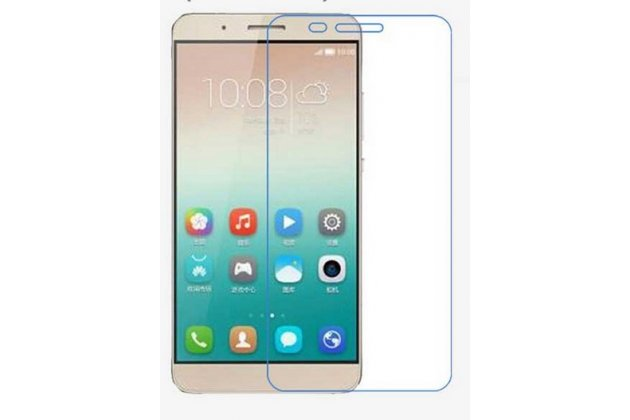 "Фирменная оригинальная защитная пленка для телефона  Huawei Honor 7i Dual Sim/ShotX 5.2"" глянцевая"