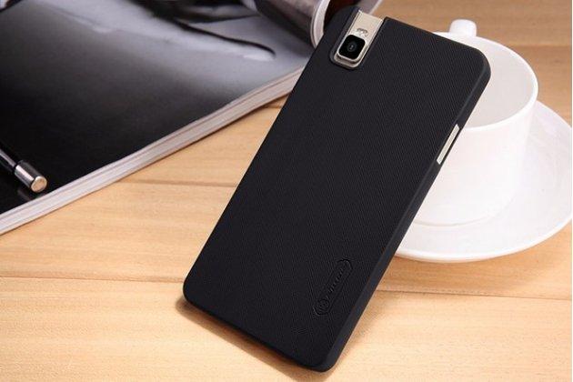 """Фирменная задняя панель-крышка-накладка из тончайшего и прочного пластика для  Huawei Honor 7i Dual Sim/ShotX 5.2"""" черная"""