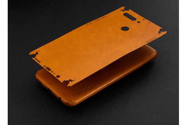 Эксклюзивная оригинальная кожаная наклейка на заднюю крышку для Huawei Honor Magic коричневая