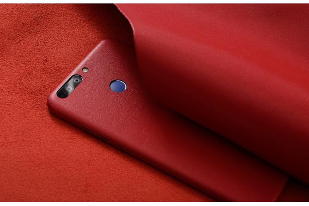 Эксклюзивная оригинальная кожаная наклейка на заднюю крышку для Huawei Honor Magic красная