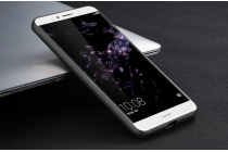 """Фирменная металлическая задняя панель-крышка-накладка из тончайшего облегченного авиационного алюминия для Huawei Honor Note 8/EDI-AL10 6.6""""  черная"""