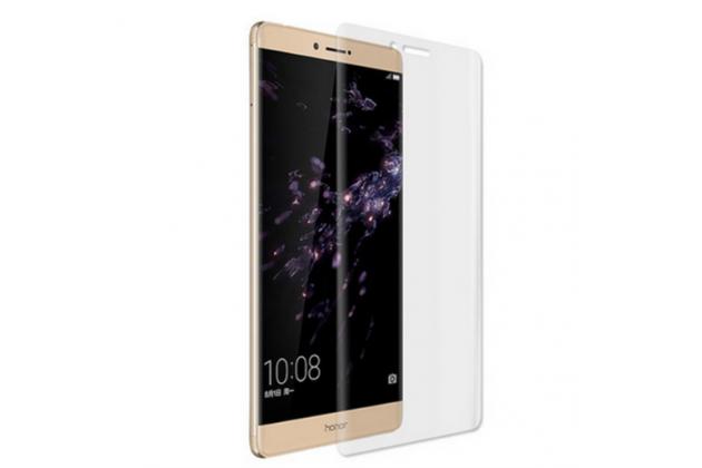 """Фирменная оригинальная 3D защитная пленка с закругленными краями которое полностью закрывает экран для телефона Huawei Honor Note 8/EDI-AL10 6.6"""" глянцевая"""