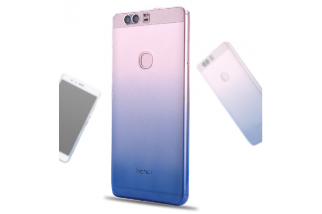 """Фирменная ультра-тонкая полимерная задняя панель-чехол-накладка из силикона для Huawei Honor Note 8/EDI-AL10 6.6"""" прозрачная с эффектом дождя"""