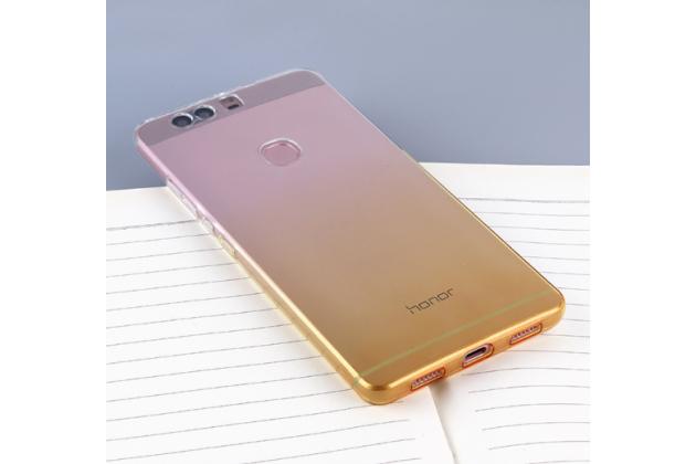"""Фирменная ультра-тонкая полимерная задняя панель-чехол-накладка из силикона для  Huawei Honor Note 8/EDI-AL10 6.6""""  прозрачная  с эффектом песка"""