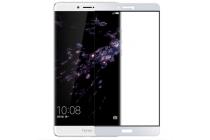 """Фирменное 3D защитное изогнутое стекло с закругленными изогнутыми краями которое полностью закрывает экран / дисплей по краям с олеофобным покрытием для Huawei Honor Note 8/EDI-AL10 6.6"""""""