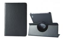 """Чехол для планшета Huawei Honor Pad 2 (JDN-W09/AL00)""""/ Huawei MediaPad T2 8 Pro поворотный роторный оборотный черный кожаный"""