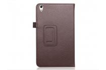 """Фирменный чехол-обложка с подставкой для Huawei Honor Pad 2 (JDN-W09/AL00)""""/ Huawei MediaPad T2 8 Pro коричневый кожаный"""