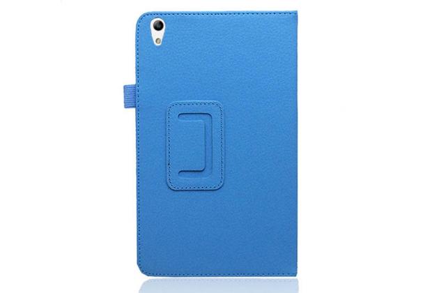 """Фирменный чехол-обложка с подставкой для Huawei Honor Pad 2 (JDN-W09/AL00)"""" /Huawei MediaPad T2 8 Pro голубой кожаный"""