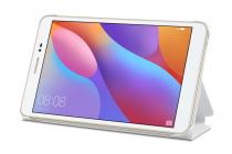 """Фирменный умный чехол самый тонкий в мире для Huawei Honor Pad 2 (JDN-W09/AL00)"""" /Huawei MediaPad T2 8 Pro белый пластиковый Италия"""