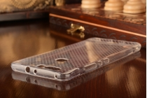 Фирменная ультра-тонкая полимерная из мягкого качественного силикона задняя панель-чехол-накладка для Huawei Honor V8 прозрачная