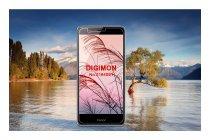 Фирменная оригинальная защитная пленка для телефона Huawei Honor V8 глянцевая