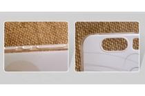 """Фирменная задняя панель-чехол-накладка из прозрачного силикона с объёмным рисунком для Huawei Honor V8 Dual Sim 4G 5.7""""  """"тематика влюбленные зайчики"""""""