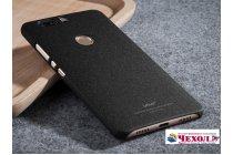 Фирменная задняя панель-крышка-накладка из тончайшего и прочного пластика для Huawei Honor V8 черный
