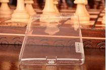 """Фирменная ультра-тонкая полимерная из мягкого качественного силикона задняя панель-чехол-накладка для Huawei Mate 8 (NXT-AL1) 6.0""""  серебристая с защитными заглушками"""