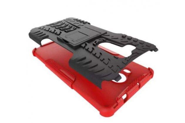 """Противоударный усиленный ударопрочный фирменный чехол-бампер-пенал для Huawei Mate 8 (NXT-AL1) 6.0""""  красный"""
