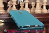 """Фирменная ультра-тонкая полимерная из мягкого качественного силикона задняя панель-чехол-накладка для Huawei Mate 9 Pro 5.5"""" (LON-L29) голубая"""