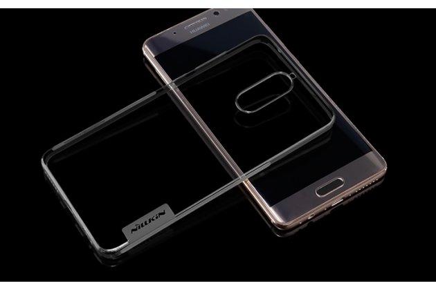 """Фирменная ультра-тонкая полимерная из мягкого качественного силикона задняя панель-чехол-накладка с заглушками для Huawei Mate 9 Pro 5.5"""" (LON-L29)  черная"""