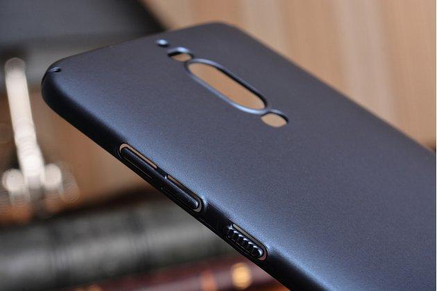 """Фирменная задняя панель-крышка-накладка из тончайшего и прочного пластика для Huawei Mate 9 Pro 5.5"""" (LON-L29) синяя"""