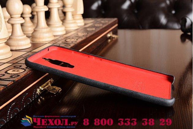 """Фирменная премиальная элитная крышка-накладка из тончайшего прочного пластика и качественной импортной кожи для Huawei Mate 9 Pro 5.5"""" (LON-L29)  Ретро под старину черная"""