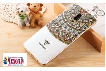 """Фирменная уникальная задняя панель-крышка-накладка из тончайшего силикона для Huawei Mate 9 Pro 5.5"""" (LON-L29) с объёмным 3D рисунком """"тематика Стильные Узоры"""""""