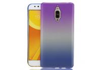 """Фирменная ультра-тонкая полимерная задняя панель-чехол-накладка из силикона для Huawei Mate 9 Pro 5.5"""" (LON-L29) прозрачная с эффектом радуги"""
