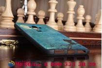 """Фирменная роскошная задняя панель-чехол-накладка из мягкого силикона с объемным  3D изображением  на Huawei Mate 9 с безумно красивым рисунком  """"Лунный кот"""""""