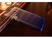 Фирменная ультра-тонкая полимерная задняя панель-чехол-накладка из силикона для OnePlus 3 прозрачная с эффекто..