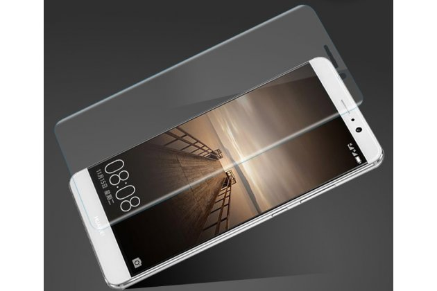 """Фирменная оригинальная 3D защитная пленка с закругленными краями которое полностью закрывает экран для телефона Huawei Mate 9 Pro  5.5"""" (LON-L29) глянцевая"""