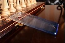Фирменная ультра-тонкая полимерная задняя панель-чехол-накладка из силикона для OnePlus 3 прозрачная с эффектом дождя