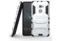 """Противоударный усиленный ударопрочный фирменный чехол-бампер-пенал для Huawei Mate S (5.5"""")  белый"""