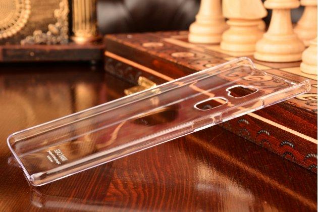 """Фирменная задняя панель-крышка-накладка из тончайшего и прочного пластика для Huawei Mate S (5.5"""") прозрачная"""