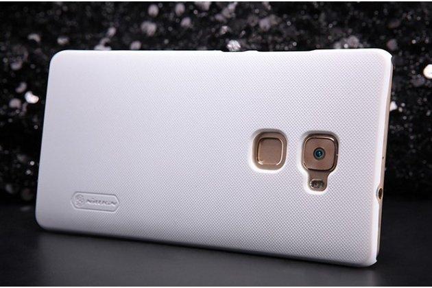 """Фирменная задняя панель-крышка-накладка из тончайшего и прочного пластика для Huawei Mate S 5.5"""" белая"""