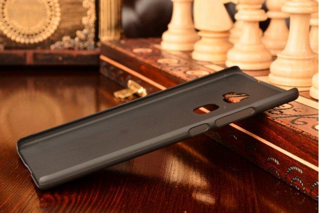 """Фирменная задняя панель-крышка-накладка из тончайшего и прочного пластика для Huawei Mate S 5.5"""" черная"""