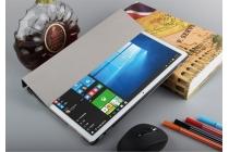 """Фирменный умный тонкий чехол для Huawei Matebook 12"""" (HZ-W09) """"Il Sottile"""" черный пластиковый"""