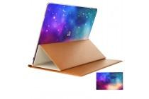 Фирменная оригинальная защитная пленка-наклейка с 3d рисунком тематика Космос на твёрдой основе, которая не увеличивает планшет в размерах для Huawei MateBook (HZ-W09/W19)