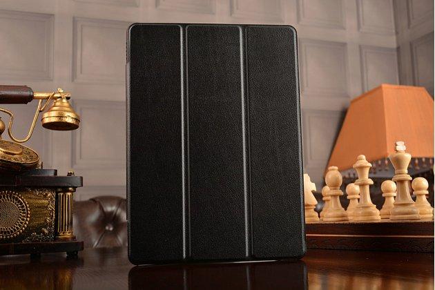"""Фирменный умный тонкий чехол для Huawei MediaPad M2 10.0 M2-A01W/L 10.1  """"Il Sottile"""" черный пластиковый"""