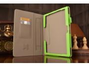 Фирменный чехол бизнес класса для Huawei MediaPad M2 10.0 M2-A01W/L 10.1  с визитницей и держателем для руки з..