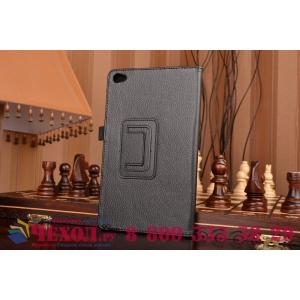 Чехол для Huawei MediaPad M2 8.0 LTE (M2-801W M2-803L) черный кожаный