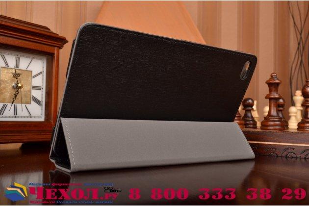 Фирменный чехол-футляр-книжка для Huawei MediaPad M2 8.0 LTE (M2-801W M2-803L) черный кожаный