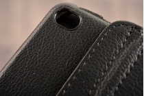 Чехол для планшета Huawei MediaPad M2 8.0 LTE (M2-801W M2-803L) поворотный роторный оборотный черный кожаный